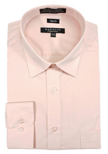 Load image into Gallery viewer, Slim Fit Dress Shirts (Red and Pink Variations)