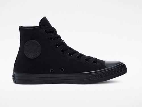 Chuck Taylor All Star Black Monochrome High Top Shoe