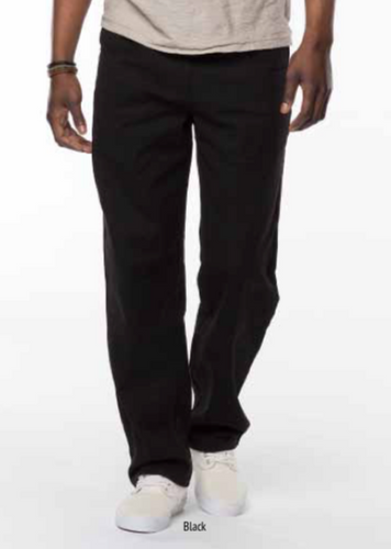 Relaxed Basic Twill Pants