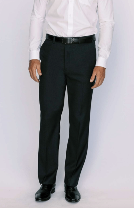 Charcoal Modern Fit Dress Pants