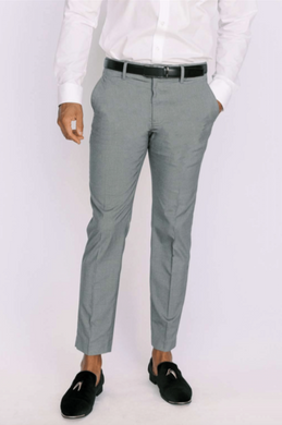 Gray Ultra Slim Dress Pants