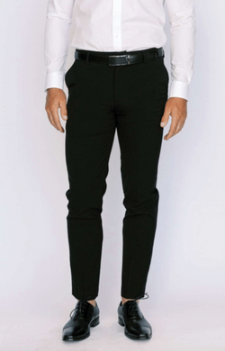 Black Ultra Slim Dress Pants