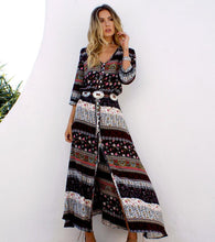 Load image into Gallery viewer, Maxi Dresses Bohemia Floral - ankitdamani736