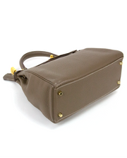 Hermes Kelly 32 Top Handle with Taupe Togo Leather