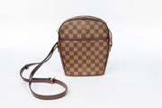 Louis Vuitton Ipanema Cross Body with Damier Ebene Canvas