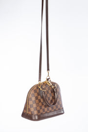 Louis Vuitton Damier Ebene Alma BB Cross Body