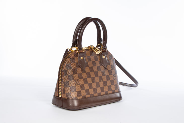 Louis Vuitton Alma BB Damier Ebene Cross Body