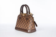 Louis Vuitton Alma BB Cross Body Damier Ebene GHW