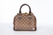 Louis Vuitton Alma BB Cross Body in Damier Ebene