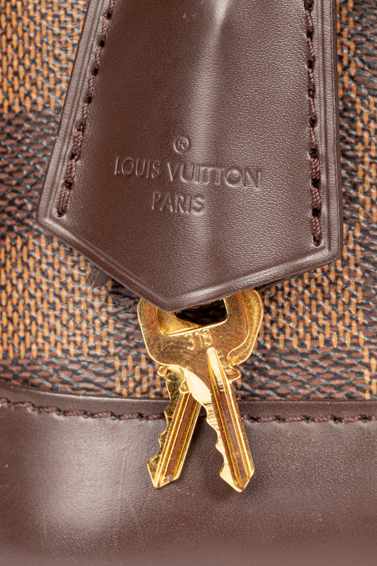 Louis Vuitton Alma BB with Damier Ebene Canvas