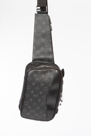 Louis Vuitton Eclipse Bumbag with Monogram Graphite Canvas