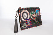 Gucci Men's GG Supreme Night Courier Pouch