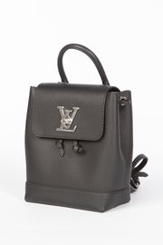 Louis Vuitton Lockme Mini Backpack in Black