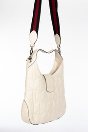 Gucci Dionysus Hobo Bag with White Matelasse Leather