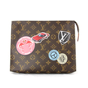 Louis Vuitton World Tour Poche Toilette 26 Cosmetic Pouch