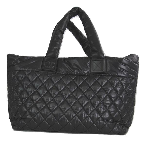 Chanel Coco Cocoon Tote Bag with Black Quilted Nylon