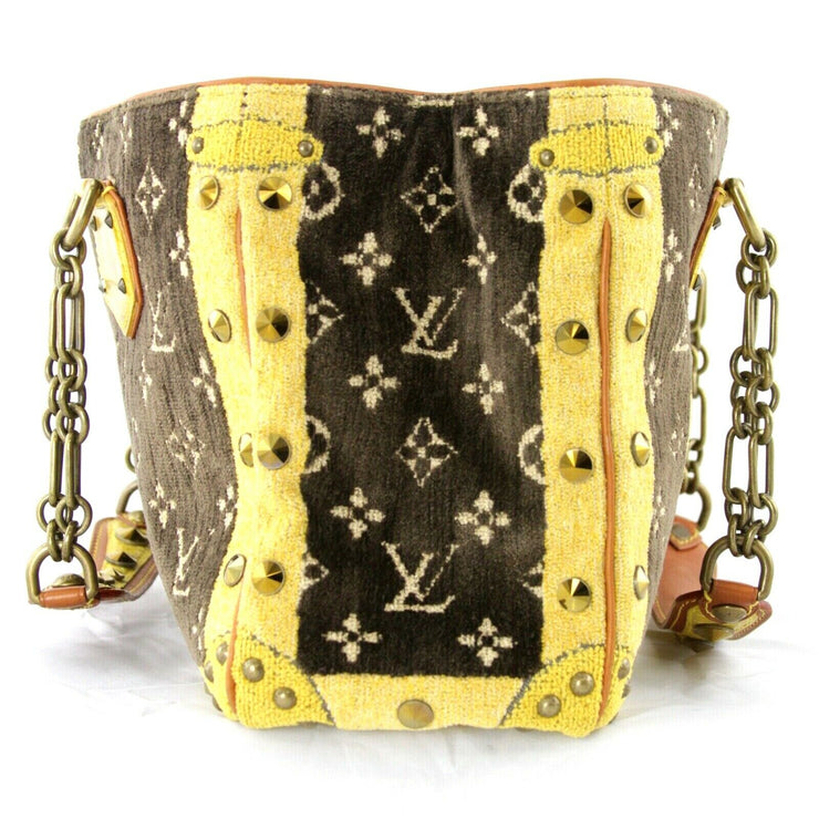 Louis Vuitton Trompe L'oeil Le Fabuleux Bag with Crocodile Trim