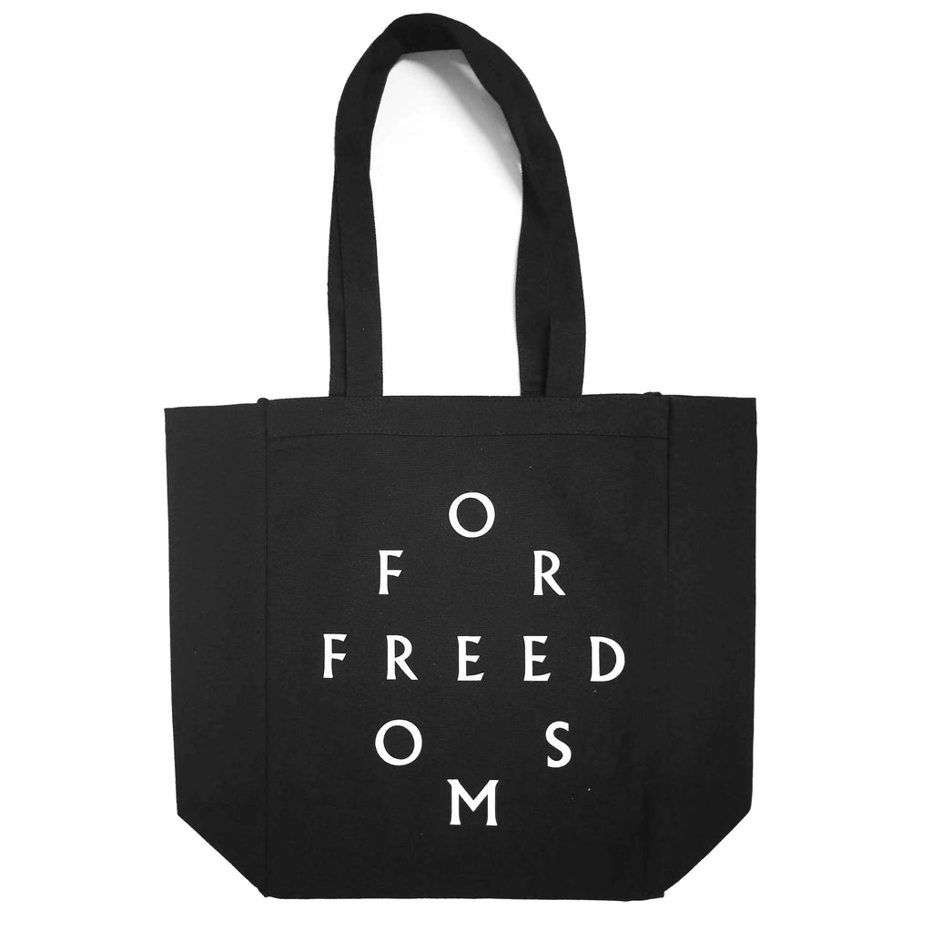 For Freedoms Black Tote