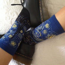 Load image into Gallery viewer, Starry Night Socks - The Yellow Sock
