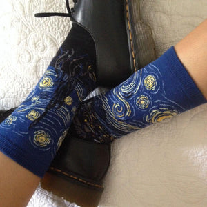 Starry Night Socks - The Yellow Sock