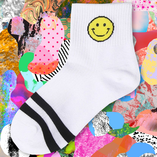 Smiley Socks - The Yellow Sock