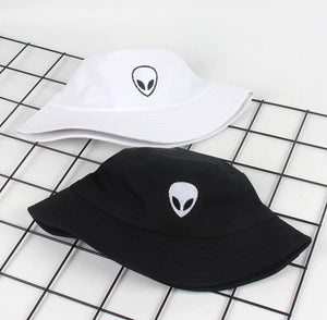 alien bucket hat - The Yellow Sock