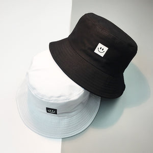 squareface bucket hat - The Yellow Sock
