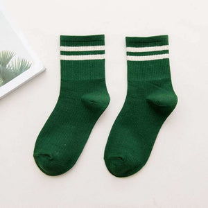 two stripes socks - The Yellow Sock