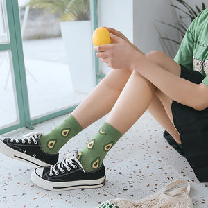 lovely fruit socks - The Yellow Sock