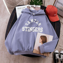 Load image into Gallery viewer, oversized center stingers hoodie - The Yellow Sock