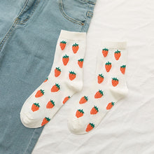 Load image into Gallery viewer, lovely fruit socks - The Yellow Sock