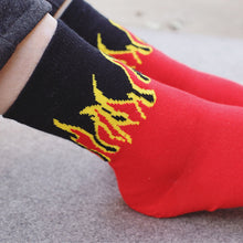 Load image into Gallery viewer, Flame Socks - The Yellow Sock