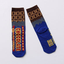 Load image into Gallery viewer, Chocolate Socks - The Yellow Sock