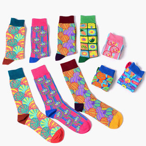 Colorful Crazy Socks - The Yellow Sock