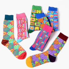 Load image into Gallery viewer, Colorful Crazy Socks - The Yellow Sock