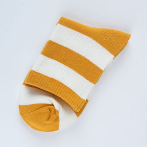 Striped Colourful Socks - The Yellow Sock