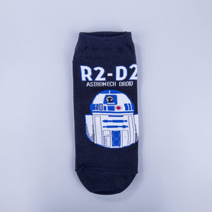 Star Wars No Show Socks - The Yellow Sock
