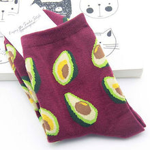 Load image into Gallery viewer, Avocado Socks - The Yellow Sock