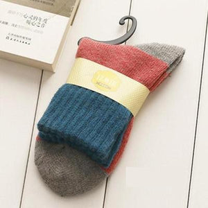 Retro Thick Socks - The Yellow Sock