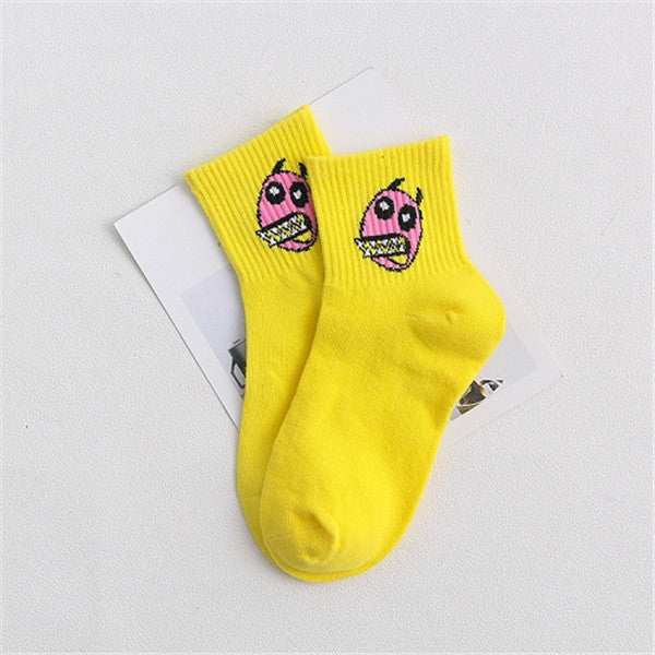 Cartoon Socks - The Yellow Sock