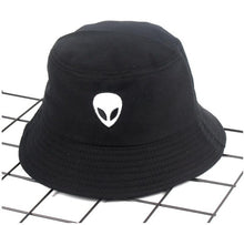 Load image into Gallery viewer, alien bucket hat - The Yellow Sock