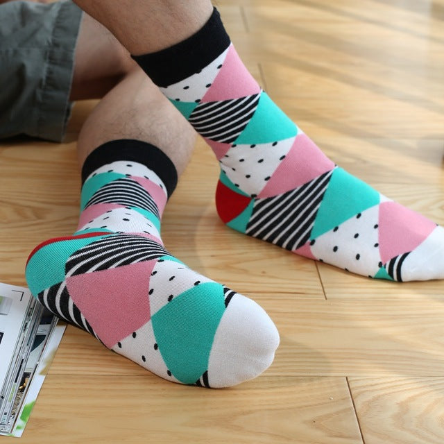 Colorful Fancy Socks - The Yellow Sock