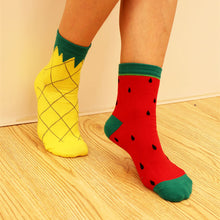 Load image into Gallery viewer, Fruity Socks - The Yellow Sock