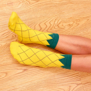 Fruity Socks - The Yellow Sock