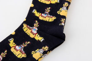 Yellow Submarine Socks - The Yellow Sock