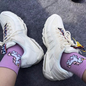 Unicorn Socks - The Yellow Sock