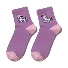 Load image into Gallery viewer, Unicorn Socks - The Yellow Sock