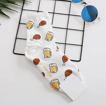 Load image into Gallery viewer, Snack Socks - The Yellow Sock