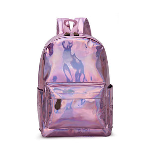 holographic backpack - The Yellow Sock