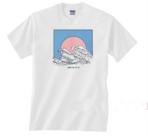 ocean t-shirt - The Yellow Sock